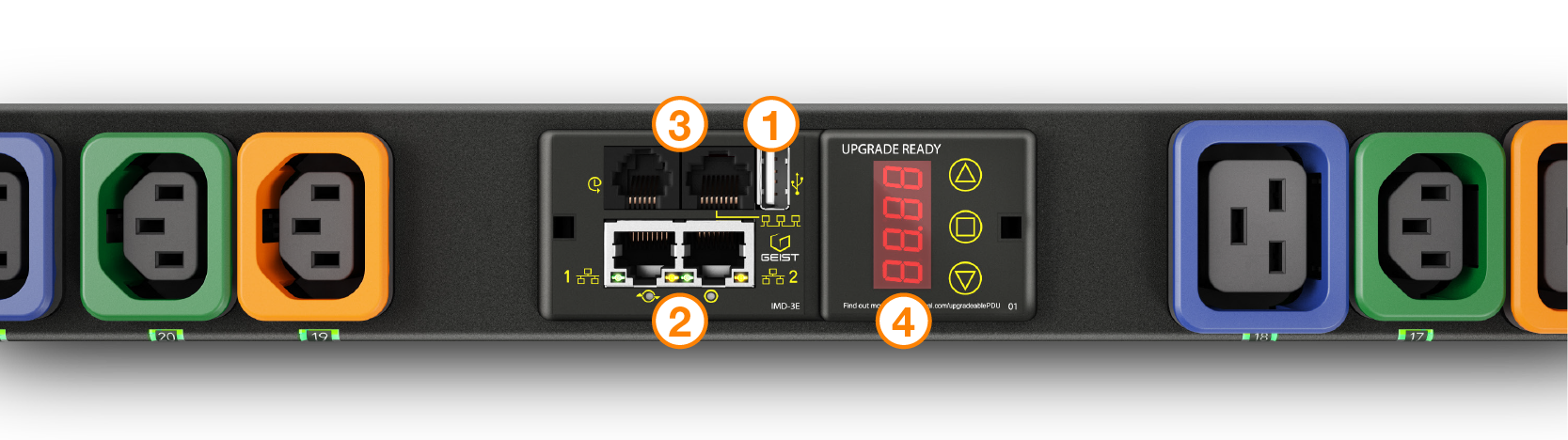 Outlet Level Monitoring and Control PDUs Intelligence