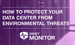 How to protect your data center from environmental threats