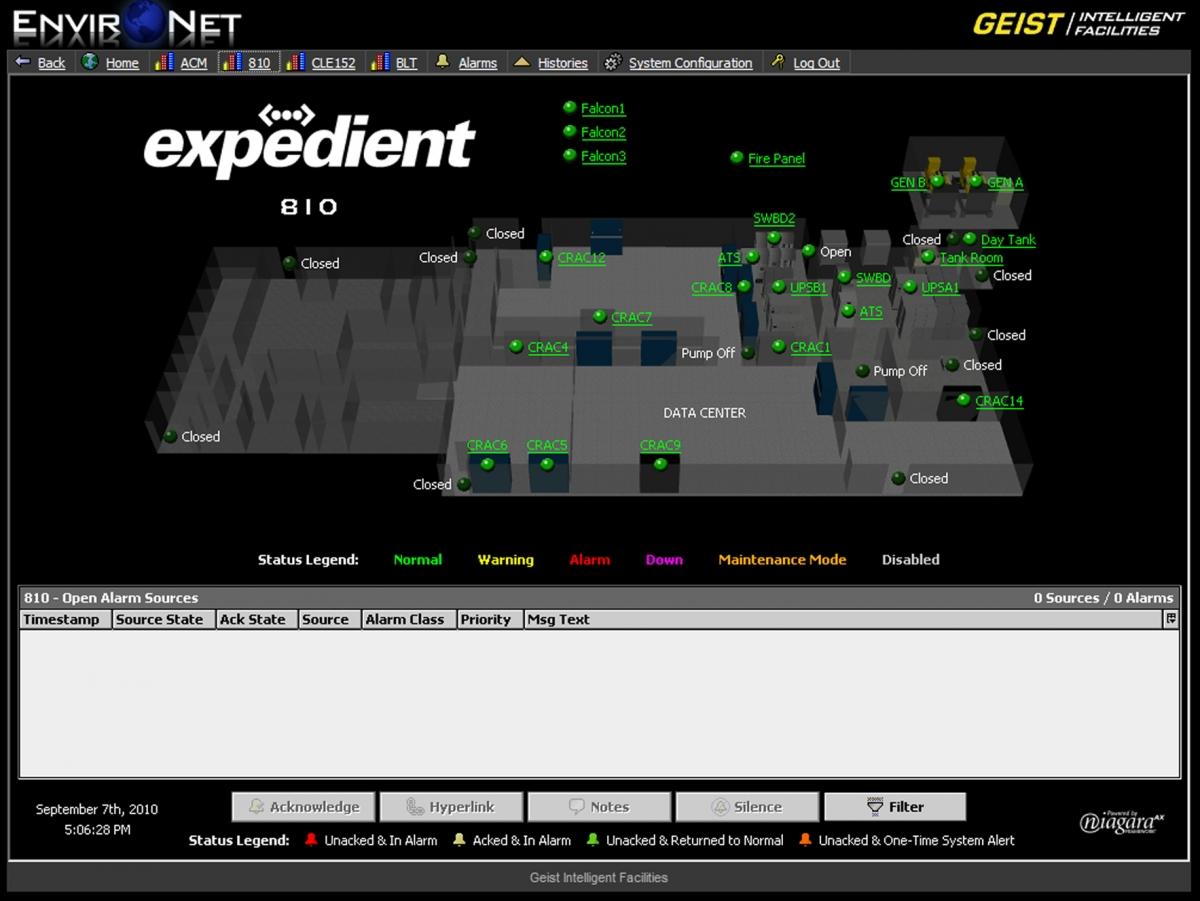 Expedient Chooses Environet Geist