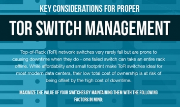Key Considerations for Proper ToR Switch Management [Infographic]