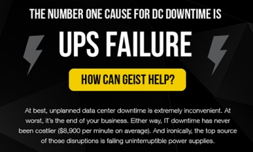 The Number One Cause For DC Downtime Is UPS Failure [Infographic]