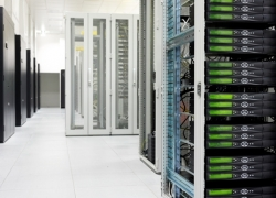 Maintain server room temperature with monitoring solutions.