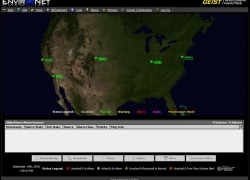 Hosting.com's national view via Environet DCiM